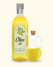 Use Pure Virgin Olive Oil! It's better for you!